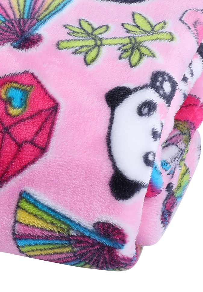 【纤丝纺】阻燃法兰绒毛毯盖毯