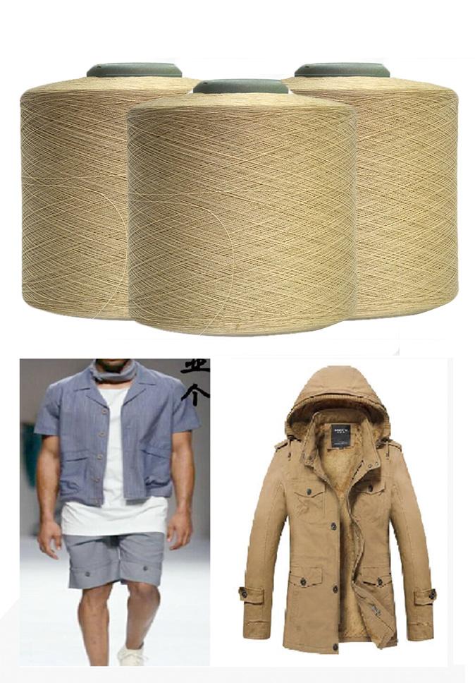 【纤丝纺】纱线厂家直供 仿棉丝再生仿棉 应用于夹克风衣衬衫裤料针织户外运动面料