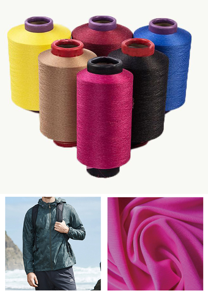 【纤丝纺】厂家直供 弹性纤维 超高弹 双组份复合丝弹性复合纱 应用于休闲服饰面料